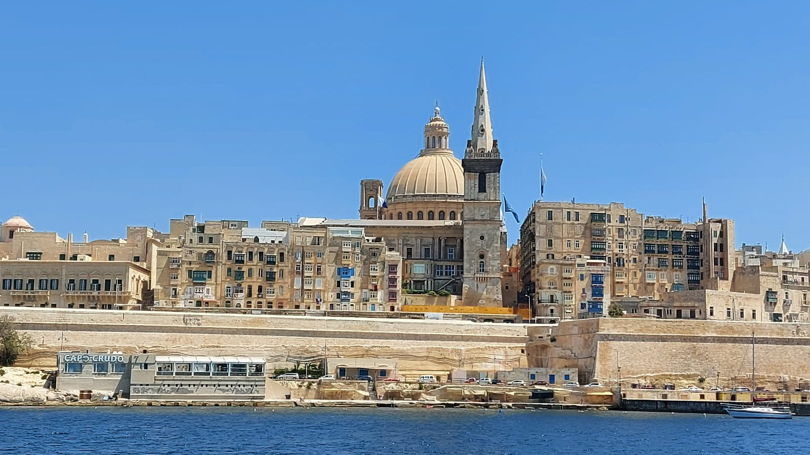 Valletta from sea