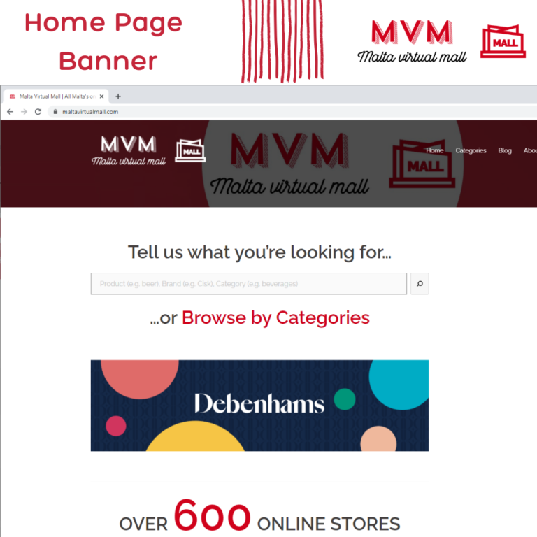 Advertise With Us - Home Page Banner - MVM