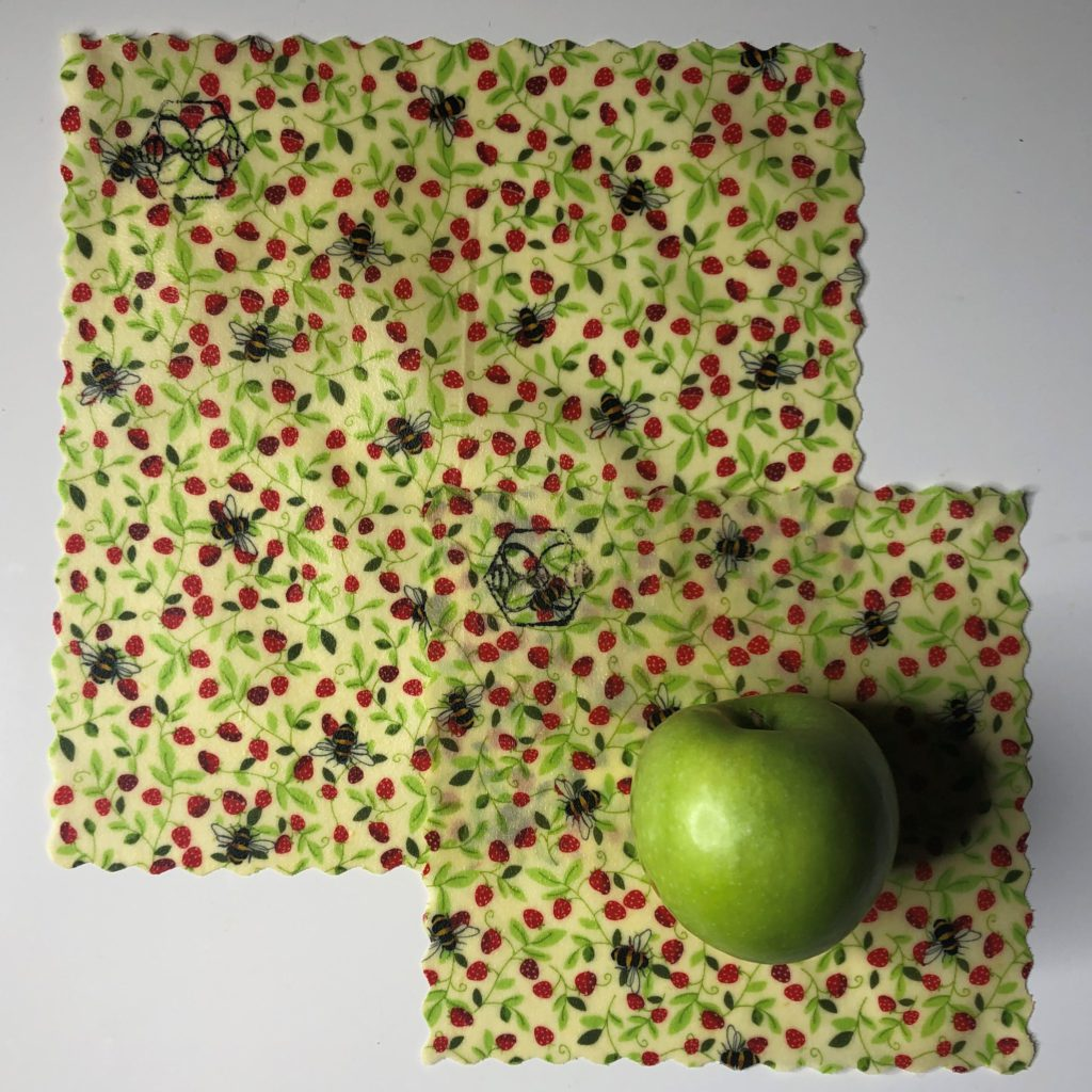 Bees - Beeswax - Duo Collection Food Wrap