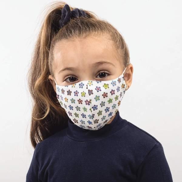 Kids Machine Washable Community Face Mask White Pack of 7 - Bortex - MVM Blog